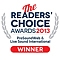Pro Sound Web Reader's choice 2013