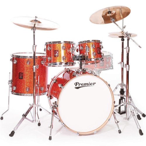 Premier Genista Maple Burnt Orange Sparkle Shell Set 10/12/14/20