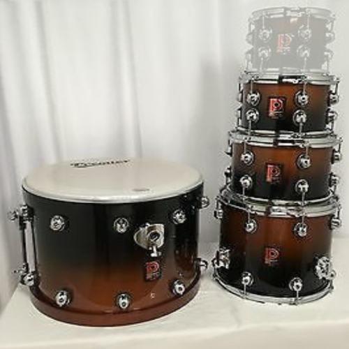 Premier Genista Maple Dark Walnut Fade Shell Set 10/12/14/20