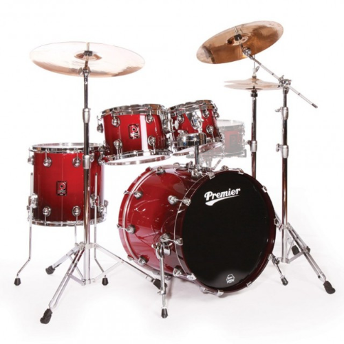 Premier Genista Maple Cherry Red Fade Shell Set 10/12/14/20