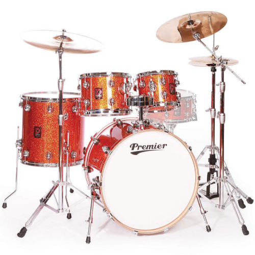 Premier Genista Maple Burnt Orange Sparkle Shell Set 10/12/16/22
