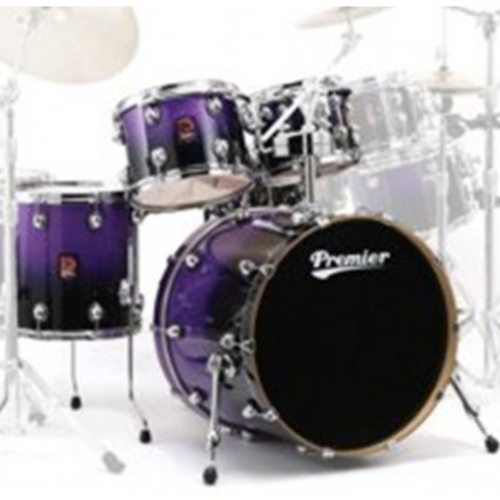 Premier Genista Maple Purple Sparkle Fade Shell Set 10/12/16/22