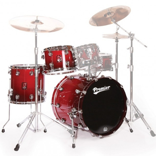 Premier Genista Maple Cherry Red Fade Shell Set 13/16/24