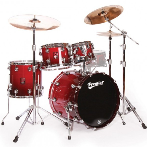 Premier Genista Maple Cherry Red Fade Shell Set 10