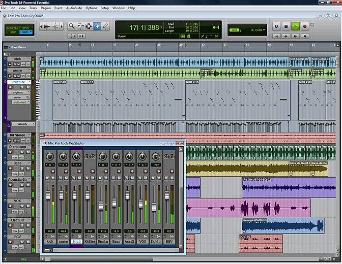 pro tools m-powered essential 8.0.3 update for mac os x